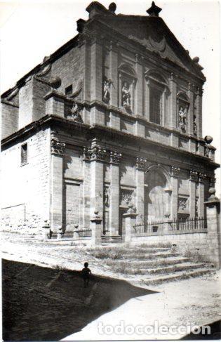 TARJETA POSTAL DE MEDINA DE RIOSECO. VALLADOLID. IGLESIA DE SANTA CRUZ. (Postales - España - Castilla y León Moderna (desde 1940))
