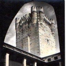 Postales: TARJETA POSTAL DE MEDINA DEL CAMPO. VALLADOLID. CASTILLO DE LA MOTA. TORRE DE HOMENAJE.. Lote 141563746