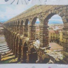 Postales: POSTAL DE SEGOVIA. AÑO 1968. ACUEDUCTO ROMANO. ED. MANIPEL, SIN CIRCULAR.. Lote 141910334