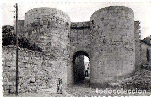 TARJETA POSTAL DE ZAMORA. ARCO DE DOÑA URRACA. (Postales - España - Castilla y León Moderna (desde 1940))