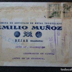 Postales: (JX-181232)TARJETA POSTAL,VIVA ESPAÑA,FABRICA DE ARTÍCULOS DE METAL TROQUELADO EMILIO MUÑOZ,BEJAR.. Lote 143062022