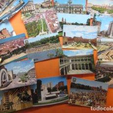 Postales: VALLADOLID MEDINA RIOSECO DEL CAMPO ALAEJOS 46 POSTALES - 8 CIRCULADAS CON SELLO AÑOS 60/70/80. Lote 143197390