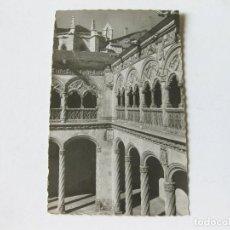 Postales: TARJETA POSTAL DE VALLADOLID - MUSEO NACIONAL - PATIO DEL COLEGIO DE SAN GREGORIO - GARABELLA. Lote 143260794