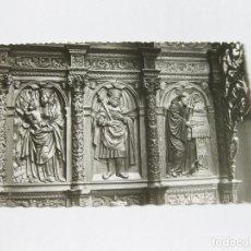 Postales: TARJETA POSTAL DE VALLADOLID - MUSEO NACIONAL - ESCULTURA - SILLERÍA DEL CORO - GARABELLA. Lote 143261334