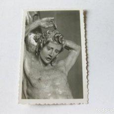 Postales: TARJETA POSTAL DE VALLADOLID - MUSEO NACIONAL - SAN SEBASTIAN - DETALLE - A. BERRUGUETE - ARRIBAS. Lote 143261698