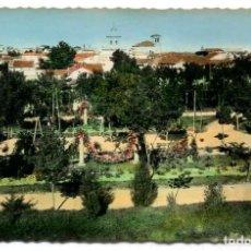 Postales: TARJETA POSTAL - ZAMORA / PARQUE DEL GENERAL MOLA. Lote 143266346