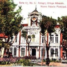 Postales: SORIA - NUEVO PALACIO MUNICIPAL. Lote 143553970
