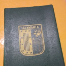 Postales: LIBRO ACORDEÓN POSTALES SALAMANCA. SOUVENIR. Lote 144086746