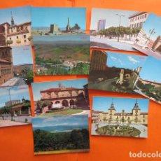 Postales: SORIA - 32 POSTALES - SOLAMENTE 1 CIRCULADAS CON SELLOS Y MATASELLOS AÑO 1978. Lote 144103362