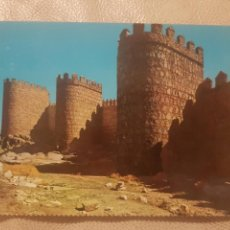 Postales: ANTIGUA POSTAL DE AVILA, MURALLAS. SIN CIRCULAR.. Lote 144293316