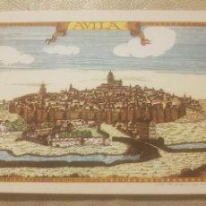 Postales: ANTIGUA POSTAL DE ÁVILA, AL REVERSO CANTO A ÁVILA , SIN CIRCULAR.. Lote 144293876