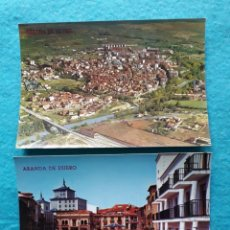 Postales: LOTE DE 2 POSTALES DE ARANDA DE DUERO. BURGOS.. Lote 144339898