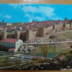 Postales: AVILA - VISTA PARCIAL DE LA CIUDAD AMURALLADA. 12. Lote 144503918