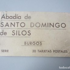 Postais: BLOCK POSTALES ABADIA DE SANTO DOMINGO DE SILOS ( BURGOS). Lote 144829050