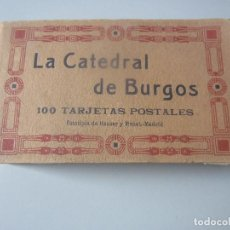 Cartoline: BLOCK POSTALES BURGOS. Lote 144829610