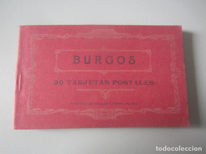 BLOCK POSTALES BURGOS (Postales - España - Castilla y León Antigua (hasta 1939))