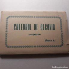Postales: SERIE 10 POSTALES CATEDRAL DE SEGOVIA, CASTILLA Y LEÓN. Lote 145648766