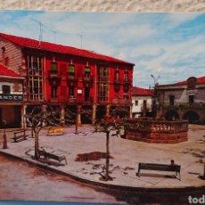 Postales: POSTAL SALAS DE LOS INFANTES, BURGOS, CIRCULADA. Lote 145961542
