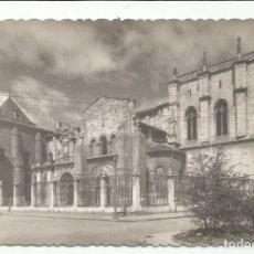 Postales: LEÓN - BASÍLICA DE SAN ISIDORO. FACHADA PRINCIPAL - Nº 51 ED. GARCÍA GARRABELLA. Lote 146018870