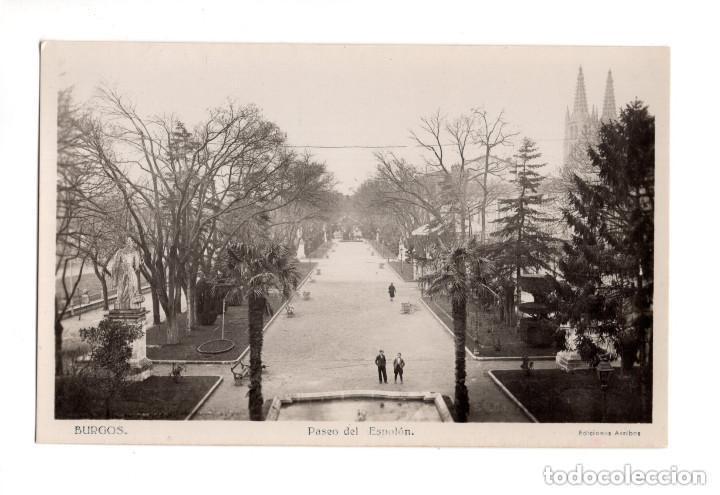 BURGOS. - PASEO DEL ESPOLÓN (Postales - España - Castilla y León Antigua (hasta 1939))