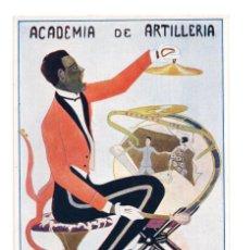 Postales: SEGOVIA.- ACADEMIA DE ARTILLERÍA SANTA BARBARA 1923. Lote 146218426
