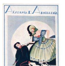 Postales: SEGOVIA.- ACADEMIA DE ARTILLERÍA SANTA BARBARA 1923. Lote 146219786
