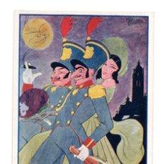 Postales: SEGOVIA.- ACADEMIA DE ARTILLERÍA SANTA BARBARA 1923. Lote 146219898