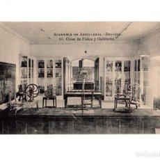 Postales: SEGOVIA.- ACADEMIA DE ARTILLERÍA - CLASE DE FÍSICA Y GABINETE. Lote 146298466