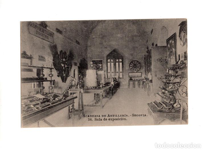 SEGOVIA.- ACADEMIA DE ARTILLERÍA - SALA DE EXPOSICIÓN (Postales - España - Castilla y León Antigua (hasta 1939))