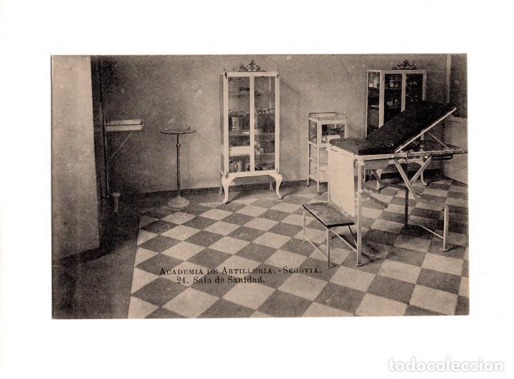 SEGOVIA.- ACADEMIA DE ARTILLERÍA - SALA DE SANIDAD (Postales - España - Castilla y León Antigua (hasta 1939))
