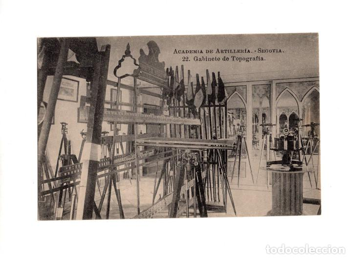 SEGOVIA.- ACADEMIA DE ARTILLERÍA - GABINETE DE TOPOGRAFÍA (Postales - España - Castilla y León Antigua (hasta 1939))