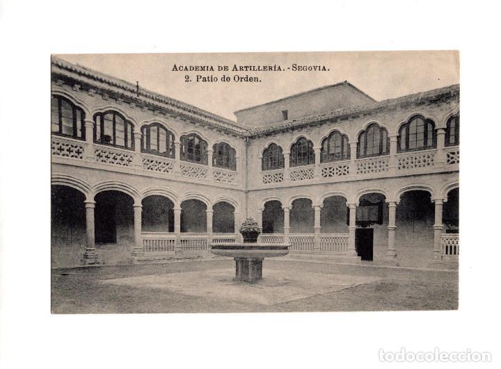 SEGOVIA.- ACADEMIA DE ARTILLERÍA - PATIO DE ORDEN (Postales - España - Castilla y León Antigua (hasta 1939))