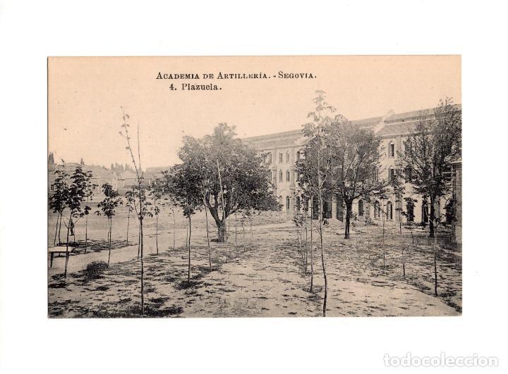 SEGOVIA.- ACADEMIA DE ARTILLERÍA - PLAZUELA (Postales - España - Castilla y León Antigua (hasta 1939))