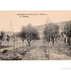 Postales: SEGOVIA.- ACADEMIA DE ARTILLERÍA - PLAZUELA. Lote 146302774