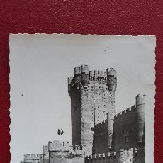 Postales: POSTAL MEDINA DEL CAMPO CASTILLO DE LA MOTA, VISTA PARCIAL DEL FRENTE. Lote 146400906