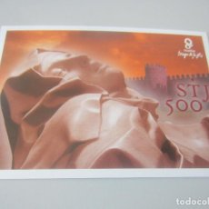 Cartoline: POSTAL V CENTENARIO DE SANTA TERESA DE JESUS LA TARJETA DEL CORREO. Lote 146623454