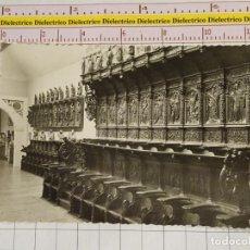Cartoline: POSTAL DE VALLADOLID. AÑOS 30 50. MUSEO DE ESCULTURA, SILLERÍA SAN BENITO EL REAL. 224 GARRAB. 1671. Lote 146675034