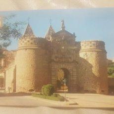 Postales: POSTAL DE TOLEDO. PUERTA DE BISAGRA. AÑOS 60. ED.DOMINGUEZ N°3, SIN CIRCULAR.. Lote 146705938