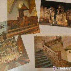 Postales: LOTE DE 4 POSTALES DE SALAMANCA : UNIVERSIDAD . DISTINTAS. Lote 147038766