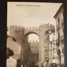 Postales: AVILA PUERTA DEL ALCAZAR. Lote 147149122