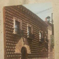 Cartes Postales: POSTAL SEGOVIA CASA DE LOS PICOS ED GARCÍA GARRABELLA N°67 AÑOS 60 SIN CIRCULAR.. Lote 147250550