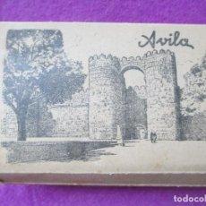 Postales: LOTE 24 POSTALES AVILA, DESPLEGABLE, MIDE APROX. 5,5 X 9 CM, VER FOTOS. Lote 147345378