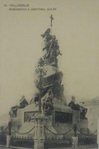 19 Valladolid. Monumento a Cristóbal Colón.