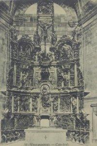 57 Valladolid. Catedral. Retablo procedente de Santa María la Antigua.