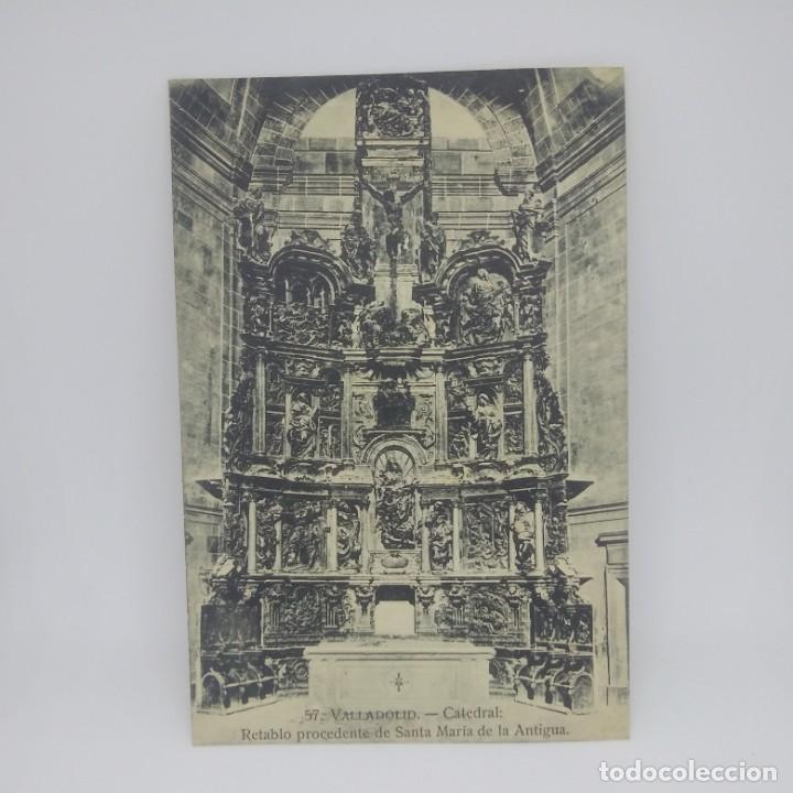 57 Valladolid. Catedral. Retablo procedente de Santa María la Antigua. - 147443678