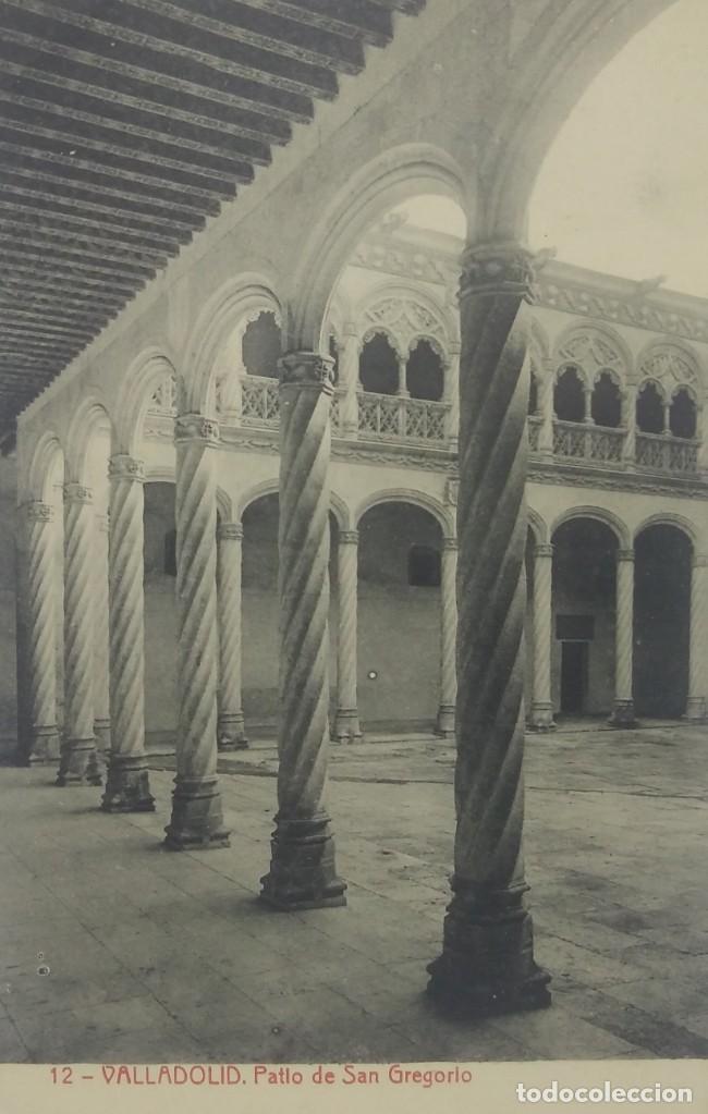12 VALLADOLID. PATIO DE SAN GREGORIO. (Postales - España - Castilla y León Antigua (hasta 1939))