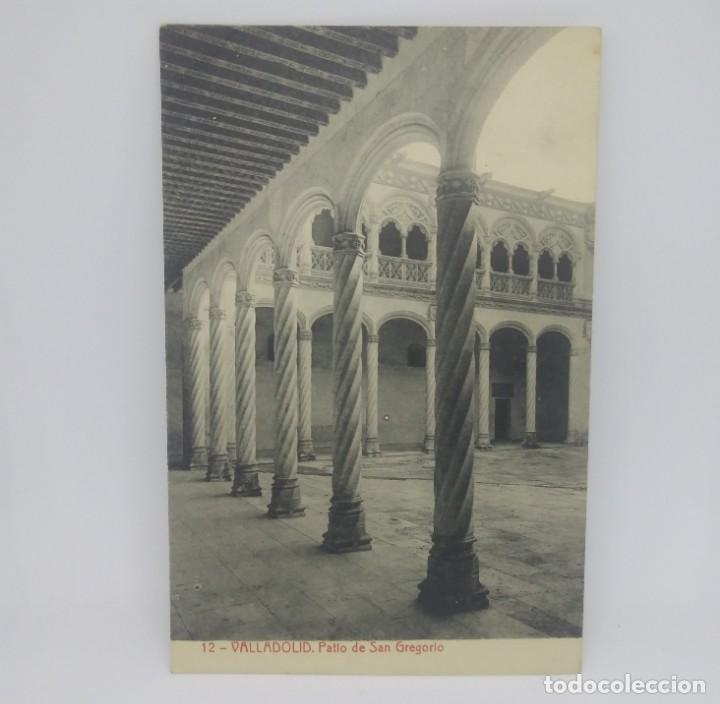 Postales: 12 Valladolid. Patio de San Gregorio. - Foto 2 - 147443906