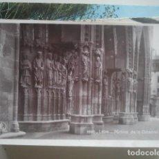 Postales: LEÓN - PÓRTICO DE LA CATEDRAL - EDICIONES UNIQUE, 1605 - FOTOGRÁFICA. Lote 147483606