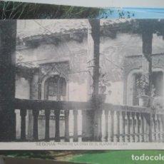 Postales: SEGOVIA - PATIO DE LA CASA DE DON ÁLVARO DE LUNA - HAUSER Y MENET. Lote 147488238