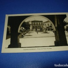Postales: ANTIGUA POSTAL DE CIUDAD RODRIGO (SALAMANCA) - PLAZA DEL BUEN ALCALDE. Lote 147505106
